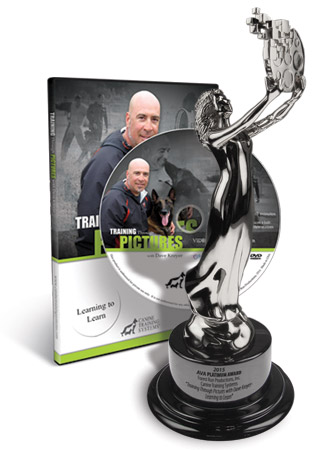 Canine Training Systems Wins a 2015 Communicator Award of Distinction for Training Through Pictures- Learning to Learn with Dave Kroyer