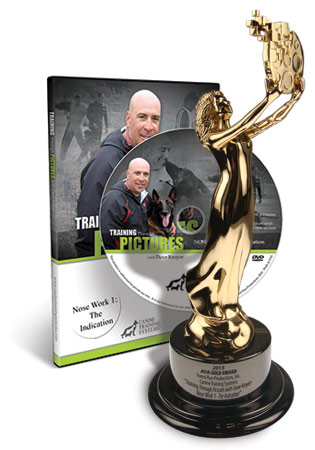Canine Training Systems Wins a 2015 AVA Awards Gold Award for Training Through Pictures- Learning to Learn with Dave Kroyer