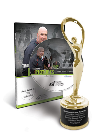 Canine Training Systems Wins a 2015 Communicator Award of <b>Excellence</b>for Training Through Pictures with Dave Kroyer- Nose Work 1- The Indication