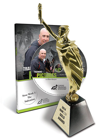 Canine Training Systems Wins 2014 Communicator Award of Distinction for Training Through Pictures- Learning to Learn with Dave Kroyer