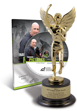 Canine Training Systems Wins 2014 Hermes Gold Award for Training Through Pictures- Learning to Learn with Dave Kroyer
