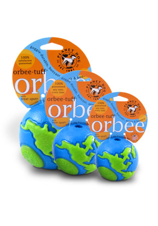 The Orbee Tuff - Orbee World Blue and Green Ball