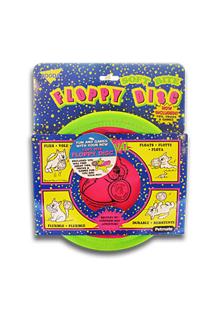The Booda Soft Bite Floppy Disc