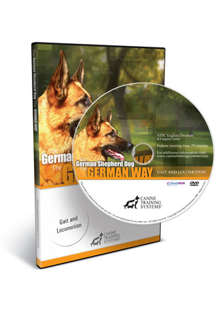 The German Shepherd Dog the German Way Video 1- Gait and Locomotion
