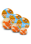 The Orbee Tuff - Orbee World Glow and Orange Ball