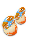 The Orbee Tuff World Orange Glow Ball