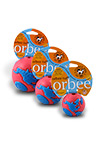 The Orbee Tuff - Orbee World Pink and Blue Ball