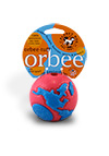 The Large Orbee Tuff World Pink and Blue Balls
