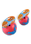 The Orbee Tuff World Pink and Blue Ball