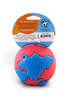 The Orbee Tuff Large Pink and Blue Ball Packaging