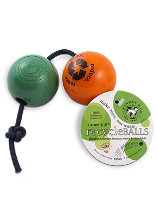 The Orbee Tuff Recycle Balls