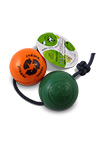 The Orbee Tuff Recycle Ball Green and Orange