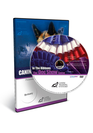 In the Ribbons, The Dog Show Game- The Brittany DVD
