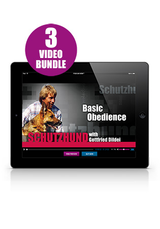 Schutzhund with Gottfried Dildei- Basic Set Streaming (German)