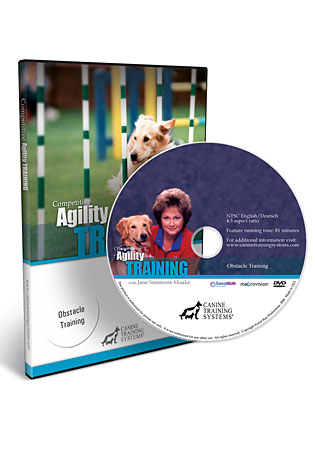 Competitive Agility Training with Jane Simmons-Moake DVD 1- Obstacle Training