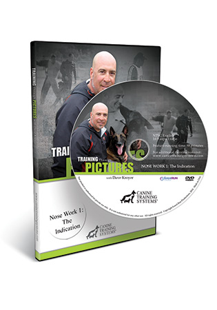 Training Through Pictures with Dave Kroyer- Nose Work 1-The Indication DVD