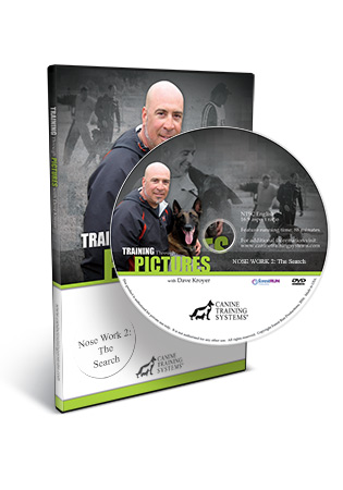 Training Through Pictures with Dave Kroyer- Nose Work 2- The Search DVD
