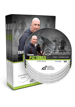 Training Through Pictures with Dave Kroyer Video 1, 2, 3, 4 DVD Set