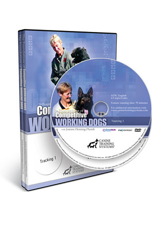 The Foundations of Competitive Working Dogs Tracking Set